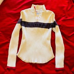 Tommy Hilfiger Sweater color block logo size M
